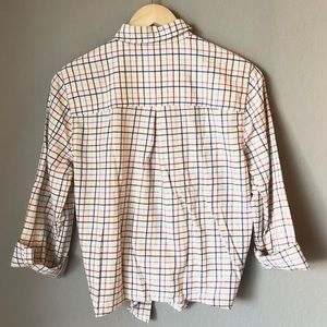 Madewell Tops - SALE!! Madewell Button Down Tie Front Top